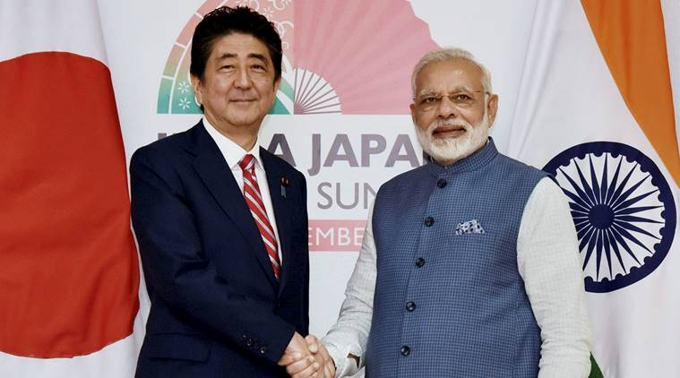 japan prime minister shinzo abe visit to india
