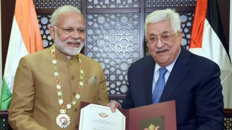 PM Narendra Modi's visit to Palestine